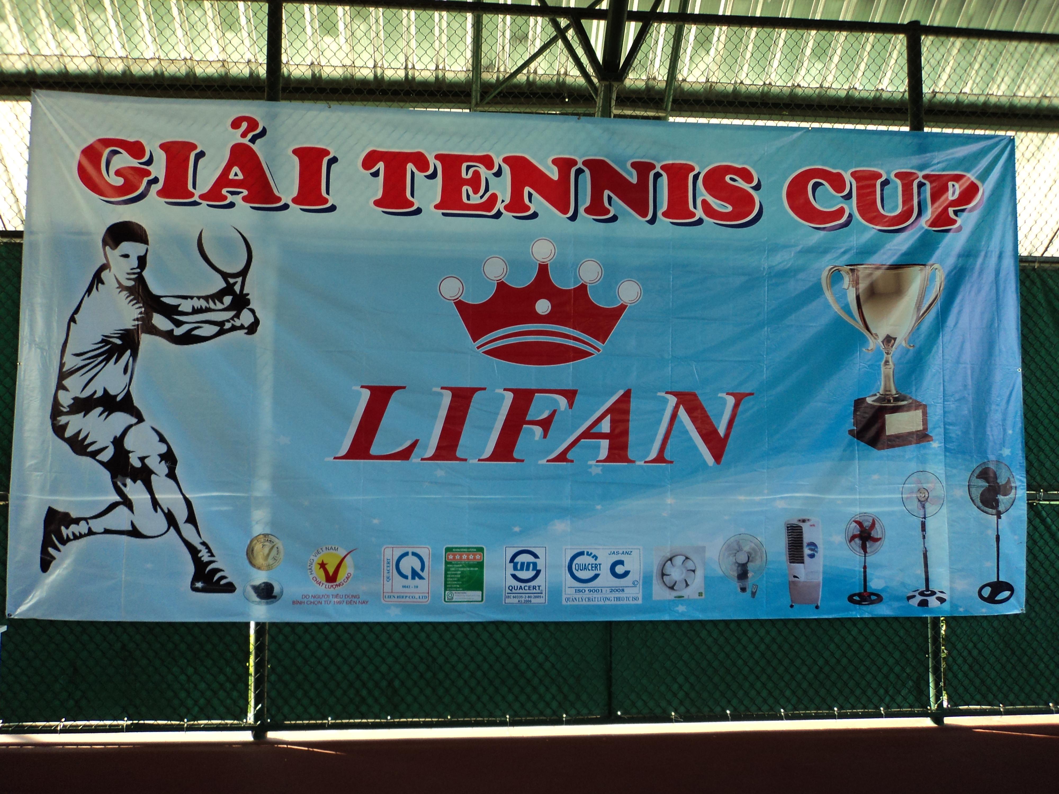 Giải Tennis Cup Lifan 2013