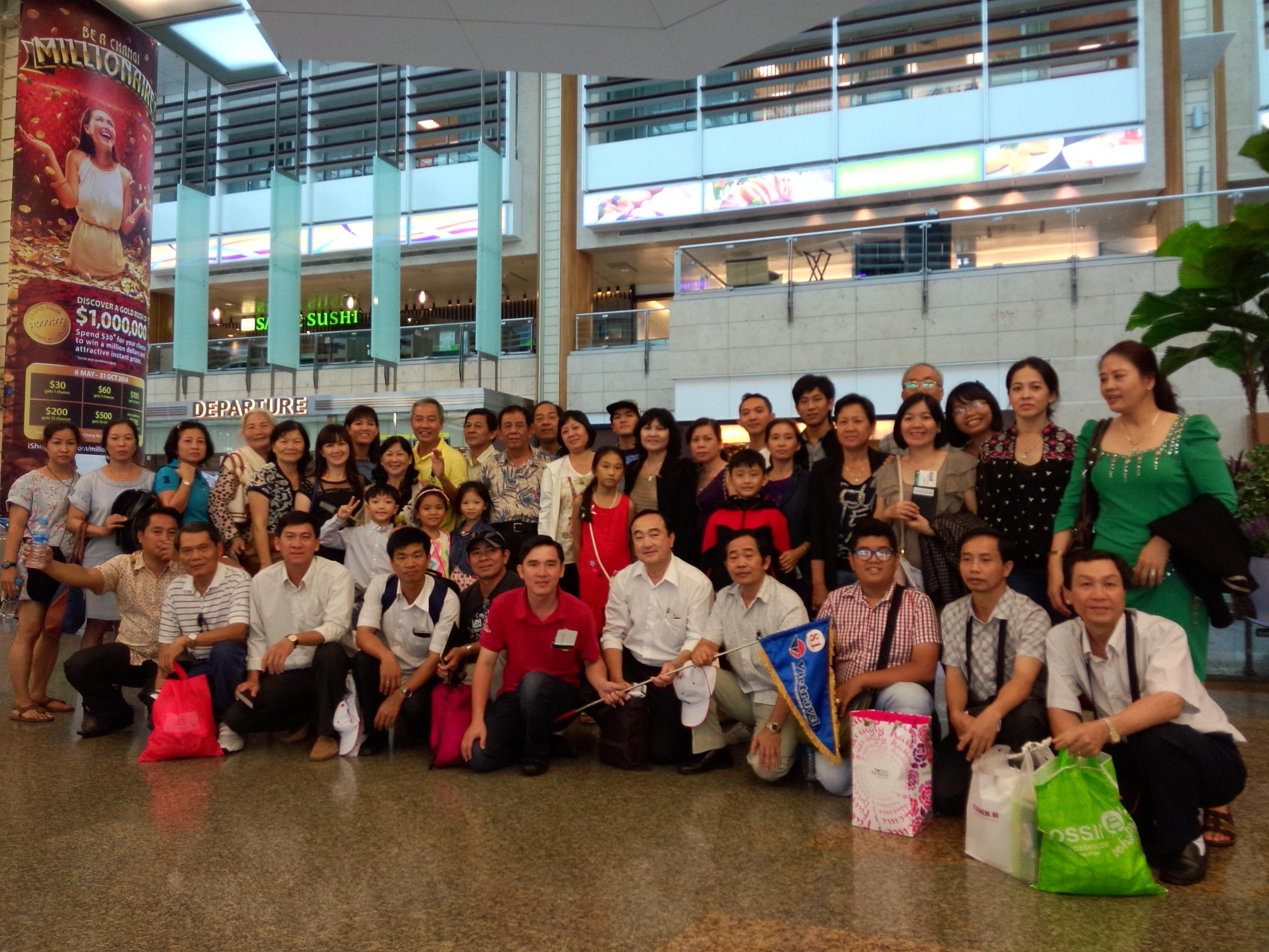 Họp Mặt Khách Hàng Tại Singapore 2014
